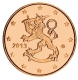 Finland 2 Cent Coin 2013 - © Michail