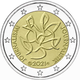 Finland 2 Euro Coin - Journalism and Open Communication Supporting the Finnish Democracy 2021 - Proof - © Michail