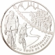 France 1 1/2 (1,50) Euro silver coin 100 years Tour de France - Mountain Stage 2003 - © NumisCorner.com