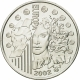 France 1/4 (0,25) Euro silver coin Europe Sets - European Monetary Union 2002 - © NumisCorner.com