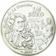 France 1/4 (0,25) Euro silver coin Fables of La Fontaine - Year of the Pig 2007 - © NumisCorner.com
