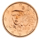 France 2 Cent Coin 2013 - © Michail