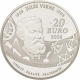 France 20 Euro silver coin 100. anniversary of the death of Jules Verne - 5 Weeks in a Balloon 2006 - © NumisCorner.com