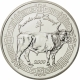 France 5 Euro Silver Coin Fables of La Fontaine - Year of the Ox 2009 - © NumisCorner.com