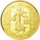 France 5 Euro gold coin 5. Anniversary of the Euro / Sower 1/2 ounce 2007 - © NumisCorner.com