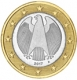 Germany 1 Euro Coin 2017 A - © Michail