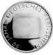 Germany 10 Euro silver coin 50 years German TV 2002 - Brilliant Uncirculated - © Zafira