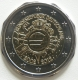 Germany 2 Euro Coin - 10 Years of Euro Cash 2012 - F - Stuttgart - © eurocollection.co.uk