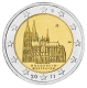 Germany 2 Euro Coin 2011 - North Rhine Westphalia - Cologne Cathedral - A - Berlin - © Michail