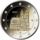Germany 2 Euro Coin 2021 - Saxony-Anhalt - Cathedral of Magdeburg - D - Munich Mint - © Michail
