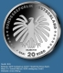 Germany 20 Euro Silver Coin - 50 Years Die Sendung mit der Maus - The Show with the Mouse 2021 - Brilliant Uncirculated - BU