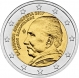 Greece 2 Euro Coin - 60th Anniversary of the Death of Nikos Kazantzakis 2017 - © Michail