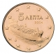 Greece 5 Cent Coin 2004 - © Michail
