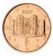Italy 1 Cent Coin 2007 - © Michail
