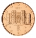Italy 1 Cent Coin 2011 - © Michail