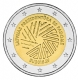 Latvia 2 Euro Coin - Latvian Presidency of the Council of the EU 2015 - © Michail