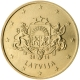 Latvia 50 Cent Coin 2014 - © European Central Bank