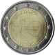 Luxembourg 2 Euro Coin - 10 Years Euro 2009 - © European Central Bank