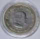 Monaco 1 Euro Coin 2007 without mintmark next to the year of manufacture - © Coinf
