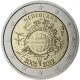 Netherlands 2 Euro Coin - 10 Years of Euro Cash 2012 - © European Central Bank