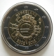 Netherlands 2 Euro Coin - 10 Years of Euro Cash 2012 - © eurocollection.co.uk