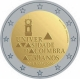 Portugal 2 Euro Coin - 730 Years University of Coimbra 2020 - © Michail