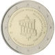 San Marino 2 Euro Coin - 25 Years of German Unity 2015 - © European Central Bank