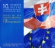 Slovakia Euro Coinset - 10 Years of Slovakian Membership in European Union 2014 - © Zafira