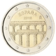 Spain 2 Euro Coin - UNESCO World Heritage Site - Old City of Segovia and its Aqueduct 2016 - © European Central Bank