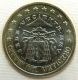 Vatican 1 Euro Coin 2005 - Sede Vacante MMV - © eurocollection.co.uk