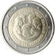 Vatican 2 Euro Coin - VIII World Meeting of Families Philadelphia 2015 - © European Central Bank