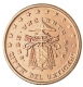 Vatican 5 Cent Coin 2005 - Sede Vacante MMV - © Michail