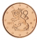 Finland 1 cent coin 2011 - © Michail