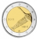 Finland 2 Euro Coin - 200 Years National Bank 2011 - © Michail
