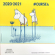 Finland Euro Coinset - Moomins - Oursea 2020 - © Michail