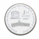 France 1 1/2 (1,50) Euro silver coin UNESCO World Heritage - the Great Wall of China 2007 - © bund-spezial