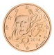France 2 Cent Coin 2014 - © Michail