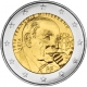 France 2 Euro Coin - 100th Anniversary of the Birth of François Mitterrand 2016 - © Michail