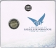 France 2 Euro Coin - 70th Anniversary of the Normandy Landings of 6 June 1944 - D-Day 2014 - Coincard - © Zafira