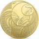 France 250 Euro Gold Coin - Rooster 2016 - © NumisCorner.com