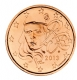 France 5 Cent Coin 2013 - © Michail
