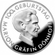 Germany 10 Euro silver coin 100. birthday of Marion Gräfin Dönhoff 2009 - Brilliant Uncirculated - © Zafira