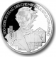 Germany 10 Euro silver coin 200. birthday of Justus von Liebig 2003 - Brilliant Uncirculated - © Zafira