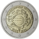 Germany 2 Euro Coin - 10 Years of Euro Cash 2012 - F - Stuttgart - © European Central Bank