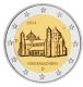 Germany 2 Euro Coin 2014 - Lower Saxony - St. Michaels Church Hildesheim - D - Munich Mint - © Michail