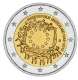 Germany 2 Euro Coin 2015 - 30th Anniversary of the European Flag - G - Karlsruhe Mint - © Michail