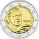 Germany 2 Euro Coin 2018 - 100th Birthday of Helmut Schmidt - D - Munich Mint - © strupi