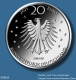 Germany 20 Euro Silver Coin - Grimm's Fairy Tales - Mother Holle 2021 - Proof