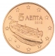 Greece 5 Cent Coin 2015 - © Michail