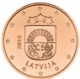 Latvia 1 Cent Coin 2016 - © Michail